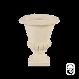 Vase Médicis M20 marbre blanc - Ø 35 cm