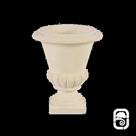Vase Médicis M20 marbre blanc