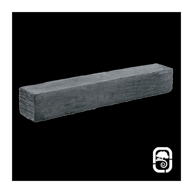 bordure schiste ton ardoise 50 5 cm. Black Bedroom Furniture Sets. Home Design Ideas
