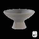 Pied pour Coupe 108 béton pressé anthracite - H 23cm