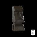 Statue Moaï Noire - H 50cm