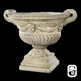 Vase renaissance ton vieilli - 81cm