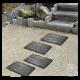 Pas japonais béton gris ardoise