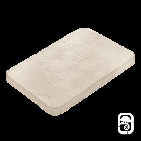 Pas japonais rectangle ton pierre