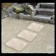 Pas cheminement rectangle en pierre reconstituée