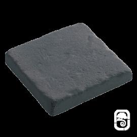 Pavés déco Touraine anthracite 2 cm - 1m²