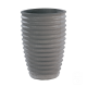 Vase cannelé 280 Nova anthracite - 36cm