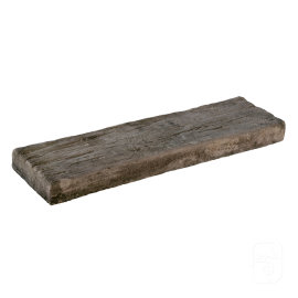 Bordure plate aspect bois vieilli - 54 cm