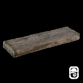 Bordure plate aspect bois vieilli