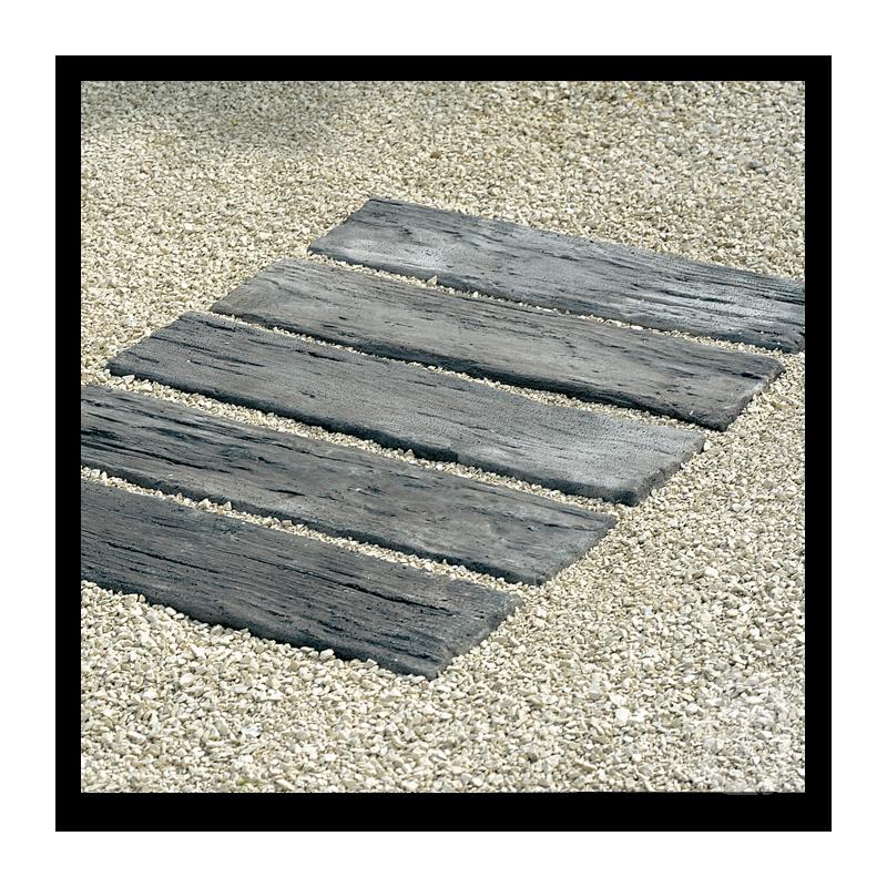bordure plate aspect bois vieilli 54 cm. Black Bedroom Furniture Sets. Home Design Ideas
