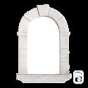 Niche en pierre reconstituée ton blanc - H 66cm