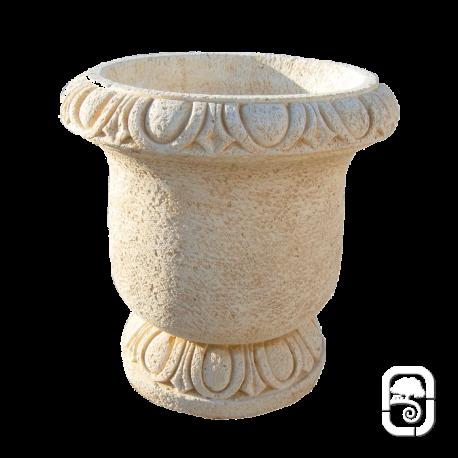 Pot en pierre Delrey Ocre