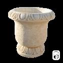 Pot en pierre reconstituée Delrey Ocre - Ø 53cm