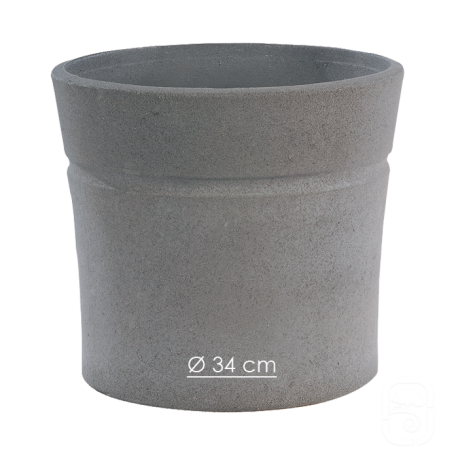 Pot Nova 130 anthracite - Ø 34cm