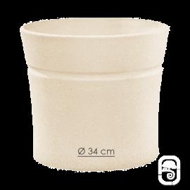 Pot Nova 130 blanc - Ø 34cm