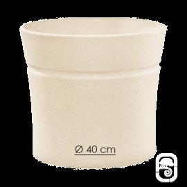 Pot Nova 131 blanc - Ø 40cm