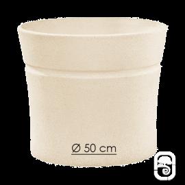 Pot Nova 132 blanc - Ø 50cm