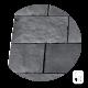 Dallage béton ciré gris ardoise