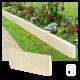 Bordure de jardin en béton ciré