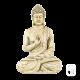 Statue Bouddha Hindou Assis ton vieilli
