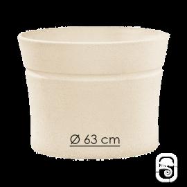 Pot Nova 133 blanc - Ø 63cm