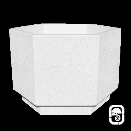 Bac en béton blanc XL OROPESA
