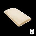 Dessus de muret bombé ton pierre - 49.5 cm