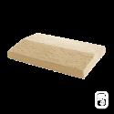 Dessus de muret 2 pentes ton pierre - 50 X 30cm