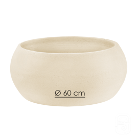 Boule Nova 136 blanc - Ø 60cm
