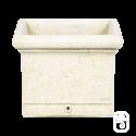 Bac carré lisse PJ59 ancien - 56cm