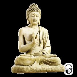 Statue Bouddha assis - H 80cm
