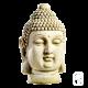 Statue Tête de Bouddha - H 42cm