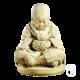 Statue Moine assis à la boule - H 50cm