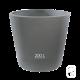 Pot XL 277 béton pressé anthracite - 200L