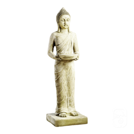Statue Bouddha debout Pang Umbat - H 101cm