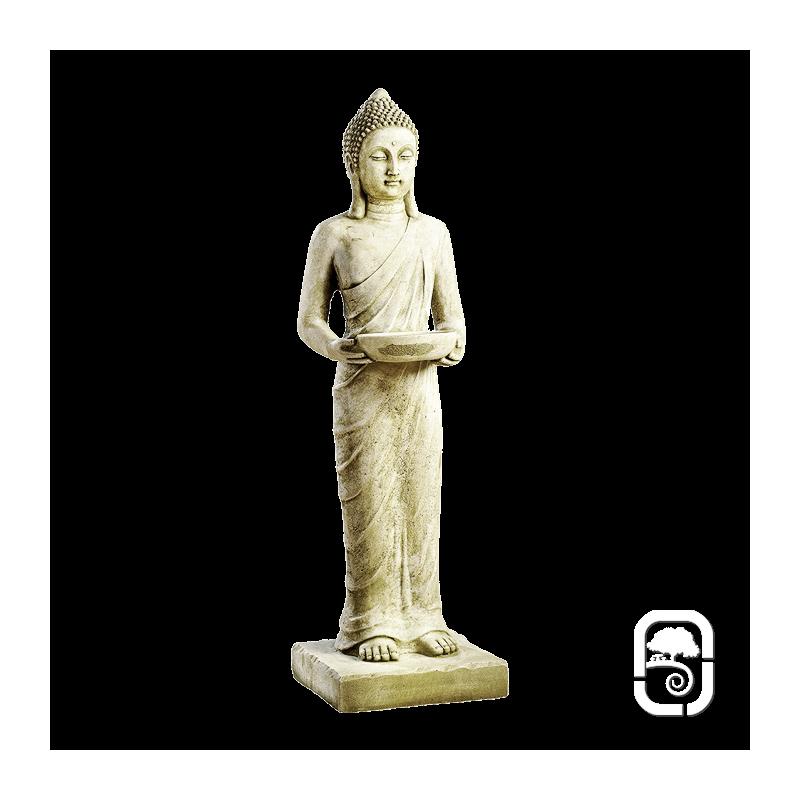 statue bouddha debout pang umbat h 101cm. Black Bedroom Furniture Sets. Home Design Ideas