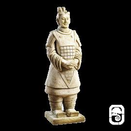 Statue Guerrier chinois Xian - H 102cm