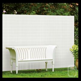 Brise Vue PVC Rugen Blanc - 140cm