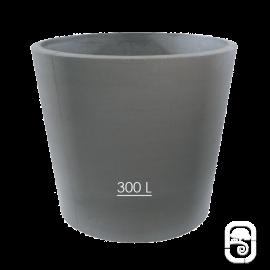 Pot XXL 278 béton pressé anthracite - 300L