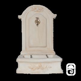 Fontaine romantique en pierre reconstituée