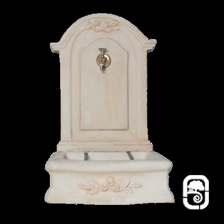 fontaine romantique en pierre reconstitu e h 96cm. Black Bedroom Furniture Sets. Home Design Ideas
