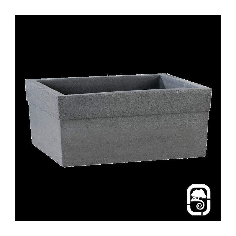 jardini re azal e anthracite 80cm. Black Bedroom Furniture Sets. Home Design Ideas
