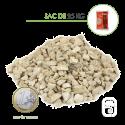 Gravillons Calcaire 6/10 - sac 25 Kg