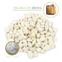 Gravier Marbre Blanc Pur Carrare 8/12 - big bag 250 Kg