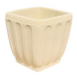 Pot carré C24 pierre classique - Ø 47 cm