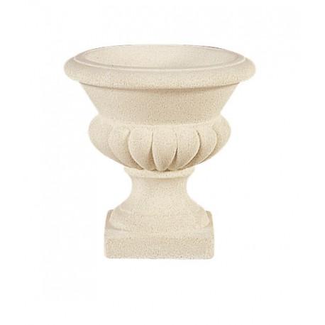 Vase Médicis M10 marbre blanc - Ø 32 cm