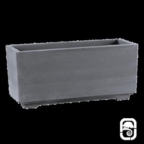 Bac béton pressé anthracite - 92cm