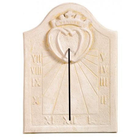 Cadran solaire Vendéen ton pierre vieillie