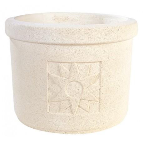 Vase 253 marbre blanc - Ø 33cm