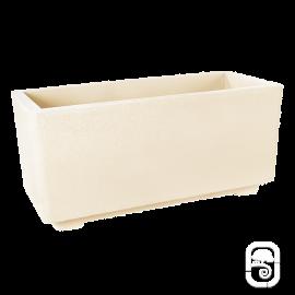 Bac béton pressé blanc - 92cm